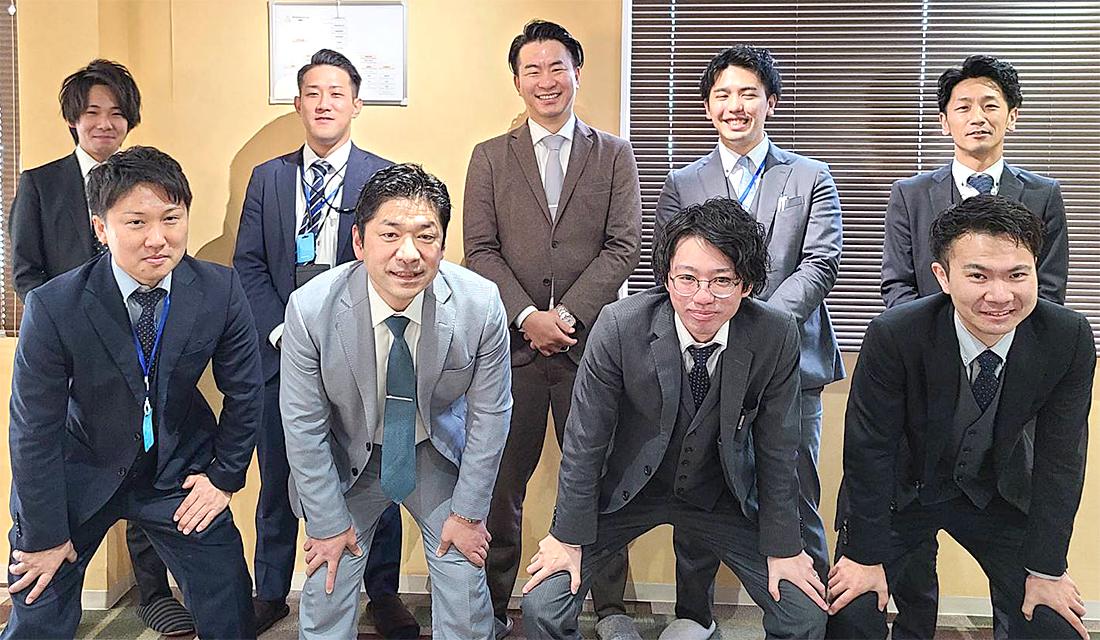 ecology仙台営業所のスタッフです。